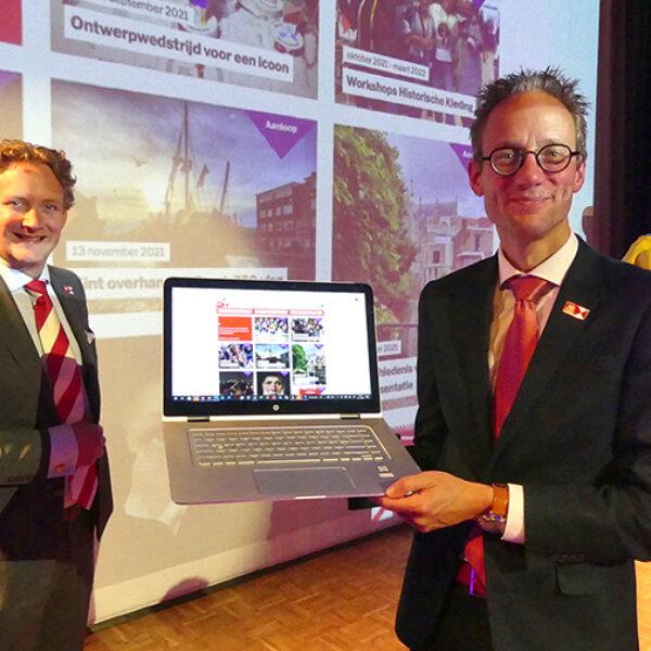 Thierry van Vught presenteert programma Gouda750