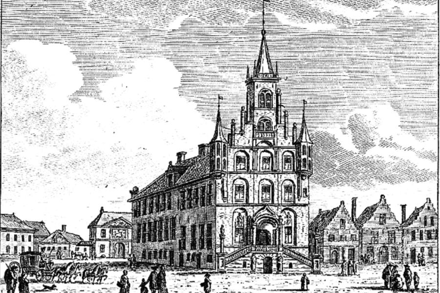 Gravure Stadhuis