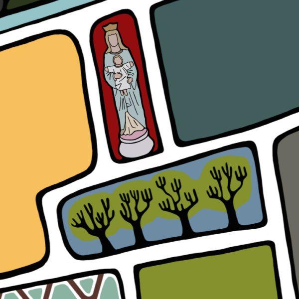 Maria beeldjes 650
