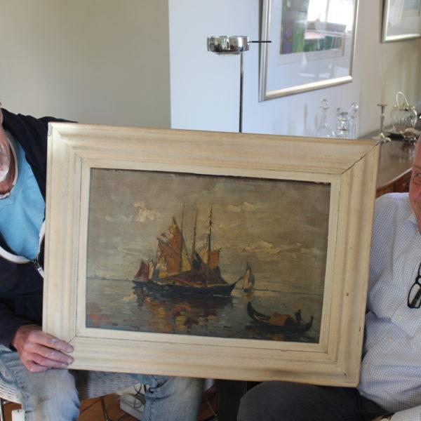 Het schilderij van Dorus Goudse Geheimen Gouda 750 jaar