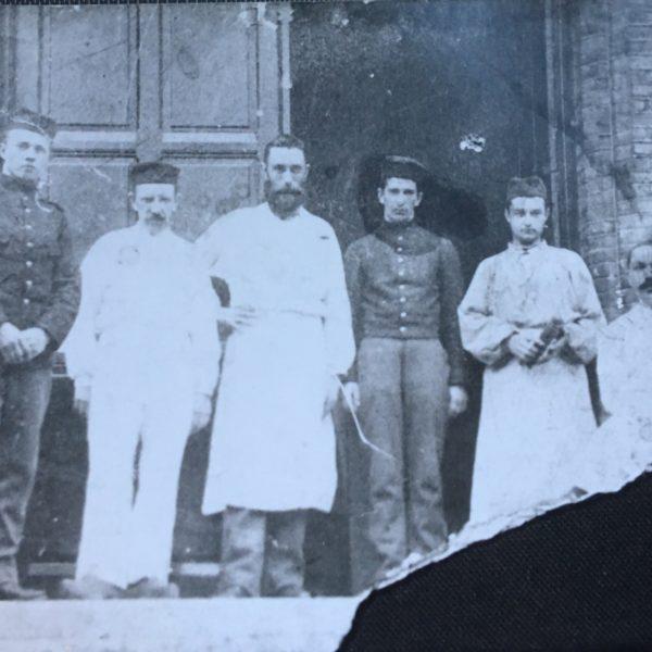 Hospitaalsoltdaat Oude belasting kantoor Cornelis Massar 1854 1924