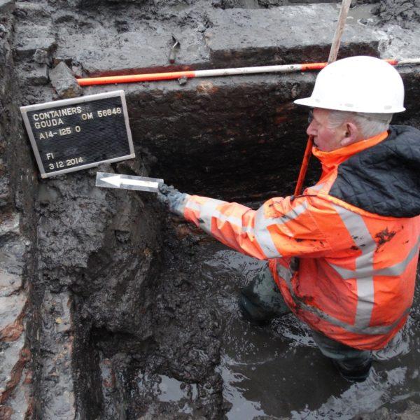 Houtmansgracht opgravingen