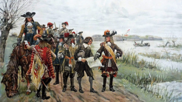 Prins Willem III aan de O Hwaterlinie