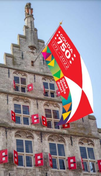 Stadhuis Met Vlag