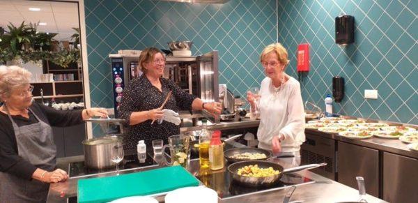 Van Noord foto voor programma 750 kookgroep
